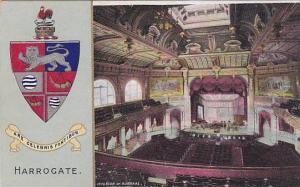 Harrogate , England , PU-1906 ; Interior of Kursaal