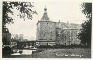 Postcard Netherlands Holland castle in Valkenburg