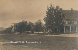 RP; GRAFTON , New Hampshire , 1923 ; Street