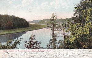 New York Rochester Scene On Lower Genesee River 1907