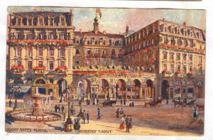 Grand Hotel Frankfurter Hof, Frankfurt a/Main, Hesse, Germany, PU-1911