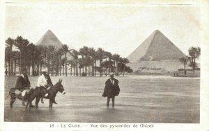 Egypt Le Caire Vue des pyramides de Gizeh 04.03