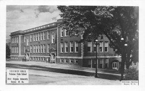 G32/ Keyser West Virginia RPPC Postcard c1950s Science Hall WVU