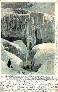 Winter Scene in Niagara Falls, New York