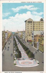 Cuba Havana Prado or Marti Promenade