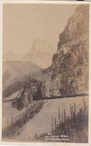 RP, On Field Hill, Cathedral Peak, Canadian Pacific Railway, British Columbia...