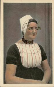 Walcheren Zeeland Netherlands woman portrait typical costume