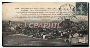 Old Postcard General view of Puy en Velay basin