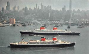 S.S. United States and  S.S. America, United States Line