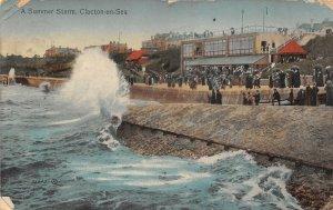 uk52626 summer storm clacton on sea uk