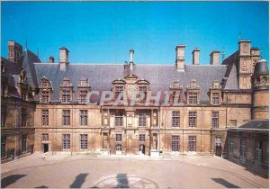 Postcard Modern Museum National Renaissance Chateau Ecouen (Val d'Oise) north...