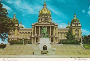 Iowa Des Moines Stae Capitol Building