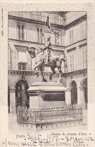 Statue De Jeanne D'Arc, PARIS, France, 1900-1910s