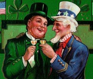 c.1910 Uncle Sam Irish Patriotic P163