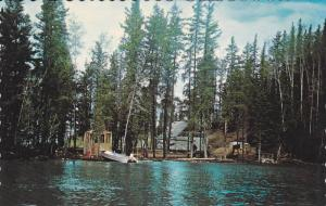 A typical wilderness fly-in camp, Colimar Lodge & Tavern,  Ontario,  Canada, ...