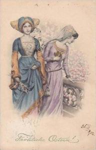 Easter Ladies With Hats 1912