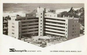 RP: SANTA MONICA , California , 1940s ;Shangri-La Apartment Hotel