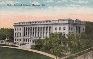 Wisconsin Madison State Historical Library 1915