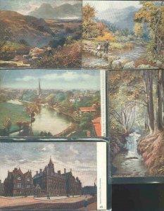 pc600 postcard Tuck's Oilette Mixture TEN All MOBSC