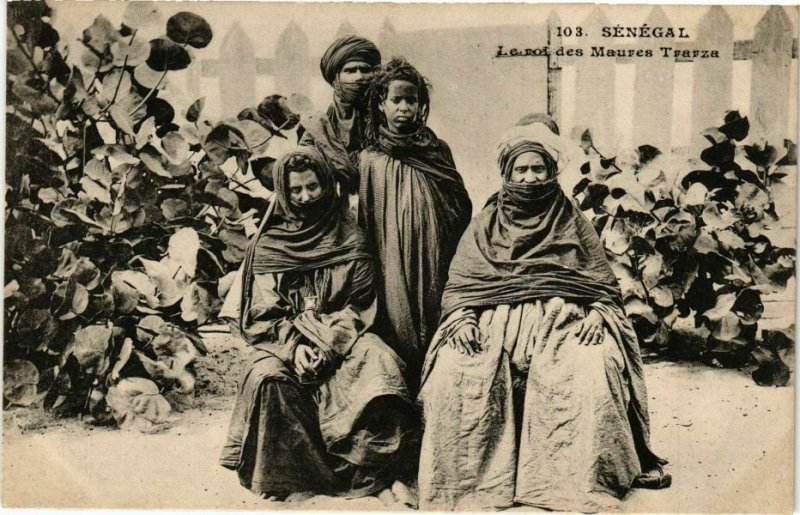 CPA AK Senegal-Le roi des Maures Trarza (235431)