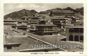 Aden Republic of Yemen Steamer Point Barracks Aden Steamer Point Barracks