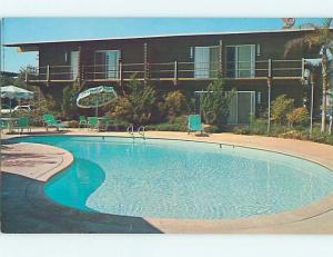 Pre-1980 CAROUSEL MOTEL Fresno California CA M3137