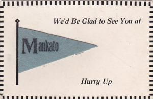 Minnesota Mankato Glad To See You Penant Series