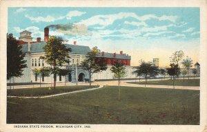 LP45 Prison Michigan City Indiana Vintage Postcard