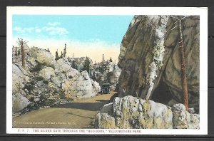 Wyoming, Yellowstone - Silver Gate Through The Hoo-Doos -- [WY-082]