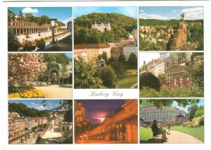 Czech Republic, Karlovy Vary used Postcard