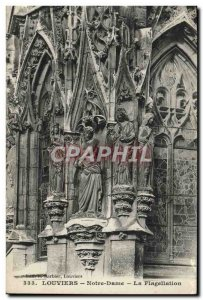Old Postcard Louviers Notre Dame The Flagellation
