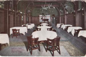 Spokane , Washington , 1912 ; Hunter's Room , Silver Grill Hotel