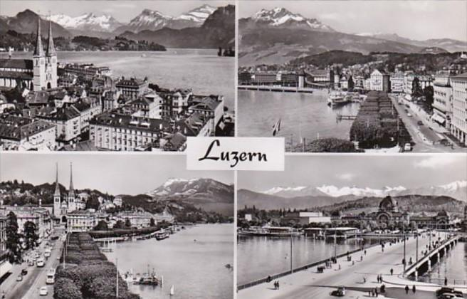 Switzerland Luzern Multi View Photo