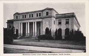 Richmond county court house, Rockingham, North Carolina, PU-1951