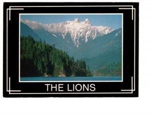 The Lions, Capilano Lake, British Columbia