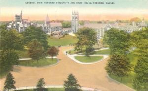 Toronto Ontario~Campus Panorama~Toronto University & Hart House~1910