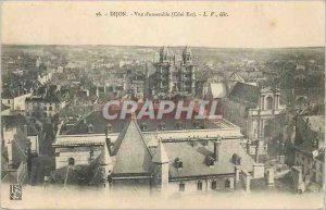 Old Postcard Dijon Overview (East Coast)