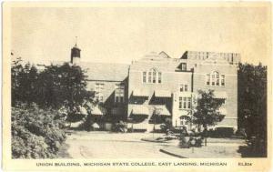 W/B Union Building Michigan State College East Lansing MI