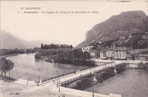 France Grenoble Le Casque de Neron et la tournant de l'Isere