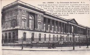 France Paris La Colonnade du Louvre