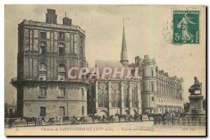 Postcard Old Chateau of Saint Germain Facade meridionale