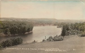 RP: WESTMINSTER , Vermont, 1910s ; CT River