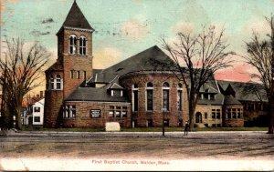 Massachusetts Malden First Baptist Church 1912