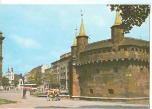 Poland, Krakow, Barbakan, unused Postcard