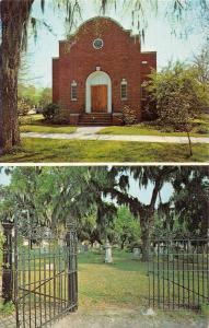 Georgetown South Carolina Temple Beth Elohim Cemetery Judaica Postcard JA455652