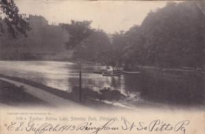 PITTSBURGH, Pennsylvania, PU-1907; Panther Hollow Lake, Schenley Park