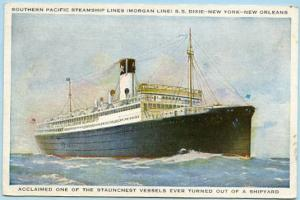 Southern Pacific Steamship Lines (Morgan Line) - S. S. Dixie
