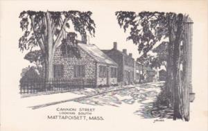 Massachusetts Mattapoisett Cannon Street Looking South