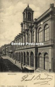 uruguay, MONTEVIDEO, La Bolsa, Stock Exchange (1907)
