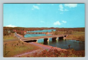 Ontario- Canada, 401 Highway over the Trent River, Chrome Postcard
